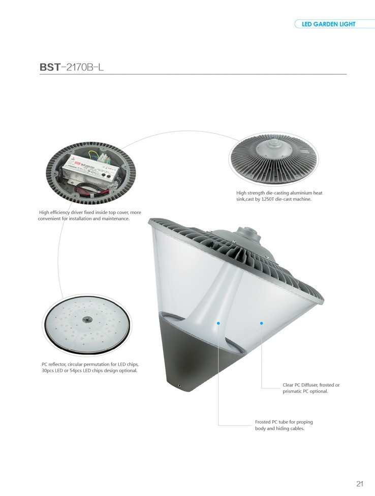 IP65 outdoor park LED Garden Light
