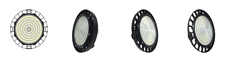 LED Light Manufacturer 200w high bay low bay fixture for 5m 8m 9m 10m 11m industry project