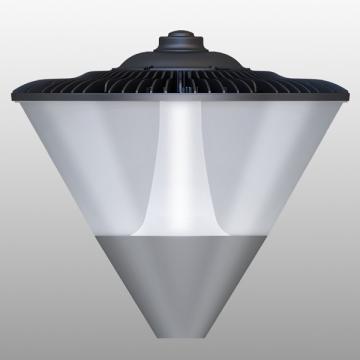 Solar style led yard luminaire