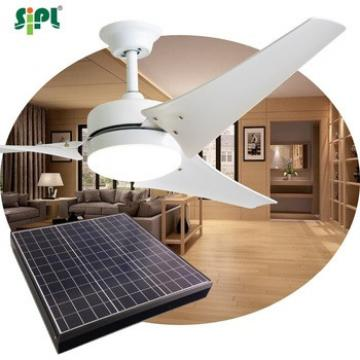 40W solar panel vent kits decorative ceiling fans with rechargeable storage battery remote control celing fan
