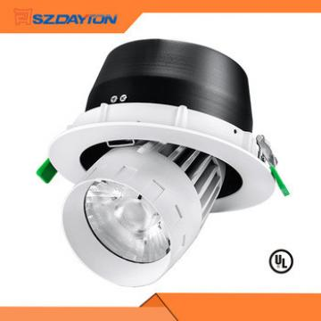 New designed and fashion white LED commercial adjustable downlight ceiling light 35W
