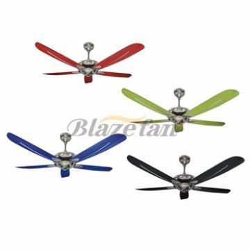56 inch morden fashion decorative ceiling fan plastic ceiling fan blade 56-E139