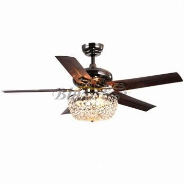 Perfect design invisible fan blade led ceiling fan light