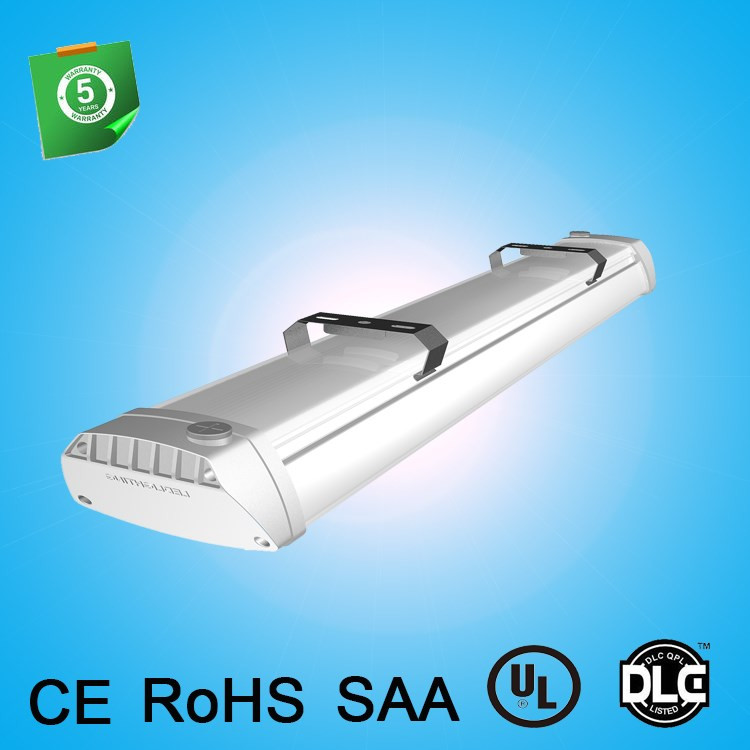High CRI Aluminum Lamp Body Material LED Linear High Bay Light 150W #2 image