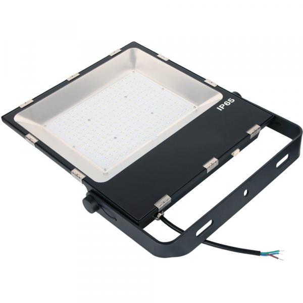 China Led Aluminum Heat Sink No Flash Led Flood Light With Stand #3 image