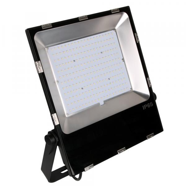 China Led Aluminum Heat Sink No Flash Led Flood Light With Stand #4 image