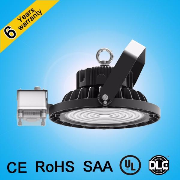 Alibaba express comfort visual 150lm/w Dimmable industrial ufo high bay led light ul dlc #4 image