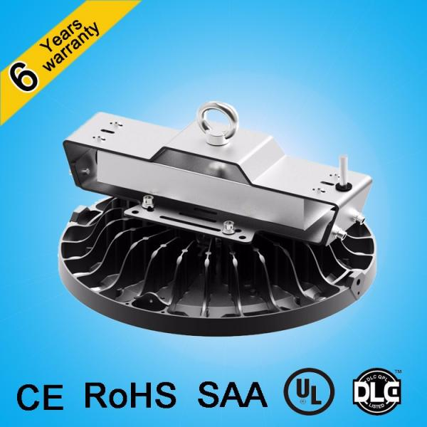 CE&RoHS approved patent design waterproof antiglare lens 200w 150w ip65 ufo led high bay light #4 image