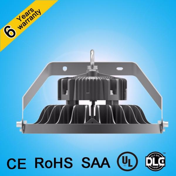 Die cast aluminum UGR<19 led warehouse lighting 200w 150w microwave dimming high bay light #5 image