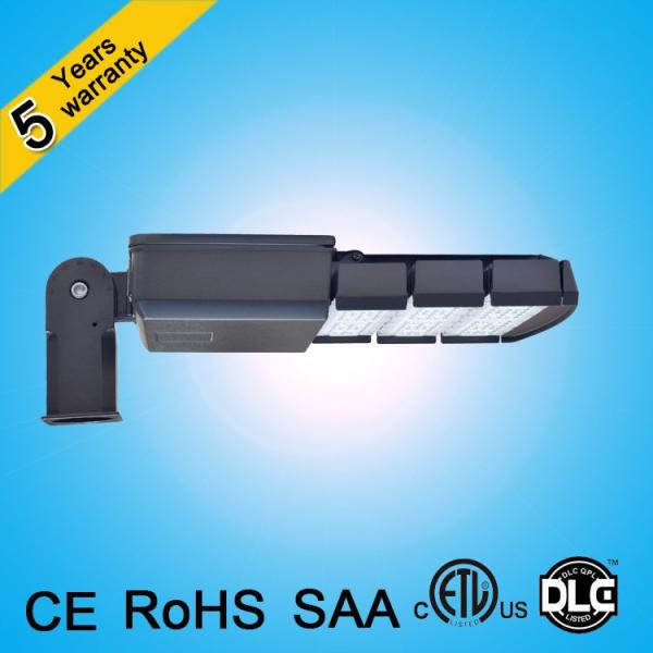 CE ROHS SAA ETL DLC 120lm/w 250w 200w 150w 100w led street light for parking lot #2 image