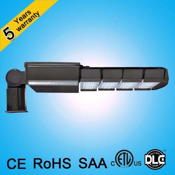 CE ROHS SAA ETL DLC 120lm/w 250w 200w 150w 100w led street light for parking lot #3 image