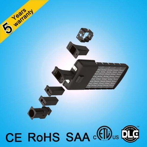 CE ROHS SAA ETL DLC 120lm/w 250w 200w 150w 100w led street light for parking lot #5 image