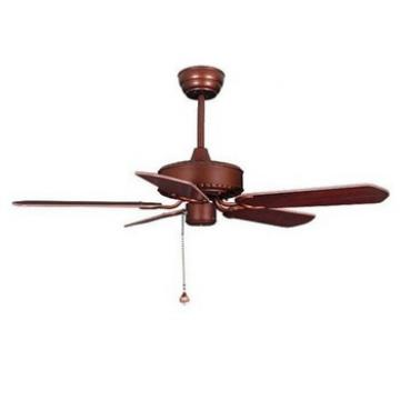 42 inch simple design flush mount low profile wood blade ceiling fan with light