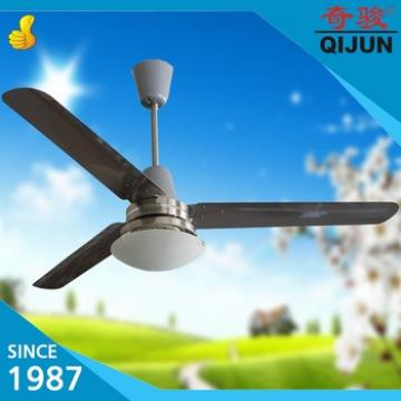 38 cm down rod 56 inch celing fan with light Stainless steel fan