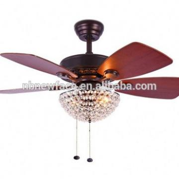 "52"" Ceiling Fan With Reversible Blades WITH Three Frosted Ribbed-Glass Shades"
