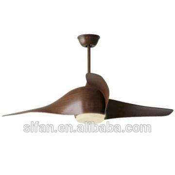 52 inch low profile plastic blade DC ceiling fan with led light kit remote control