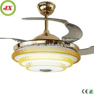 42' 4 blade 1 light Ceiling Fan with led Light