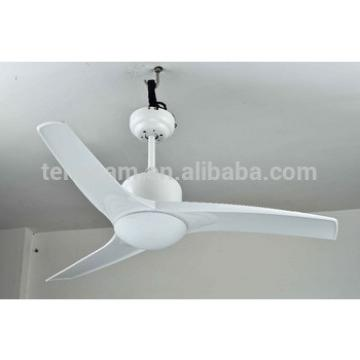 42 inch white 3 ABS blade ceiling fan with light