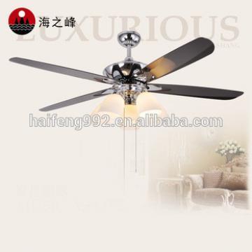 electricity 52 inch plastic blade ceiling fan light