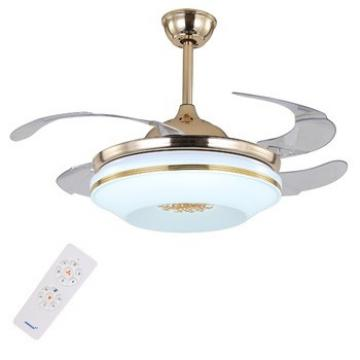 Chinese supplier wholesales special design fancy ceiling fan with hidden blade