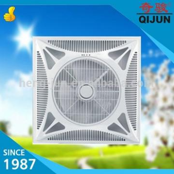 Cooling Office 60 By 60 White Ceiling Box Fan with Remote Control and Light