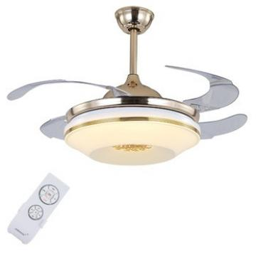 """High quality 5""""/12CM & 10''/25CM bottom price ceiling fan with hidden blades"""