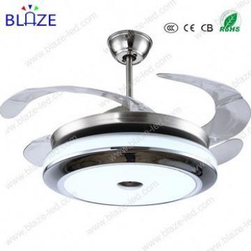 head light ceiling fan switch hidden blades modern