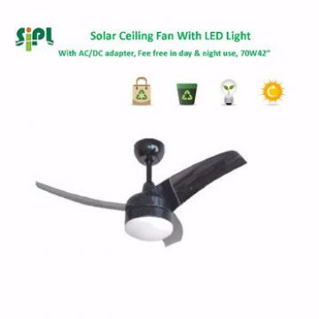 VENT KITS SUNNY solar electric 24v ceiling fan with led light air conditioning blower fan solar powered ceiling fan