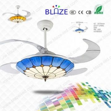 new products chandelier ceiling fan hidden blades modern