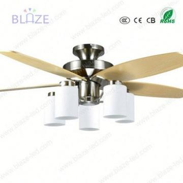 230v 56inch ceiling fans with led lights with hidden blade