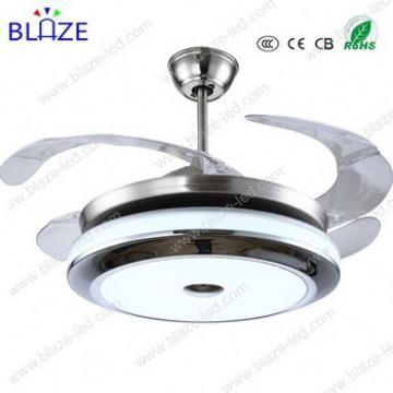 led lights ceiling fan india price hidden blades modern