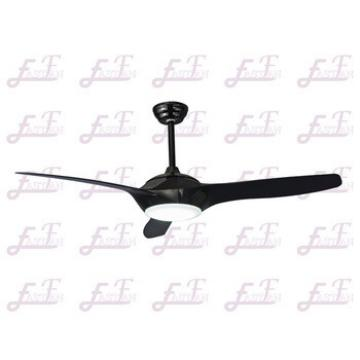 East Fan 52inch DC motor Ceiling Fan with light modern black ceiling fan item EF52140