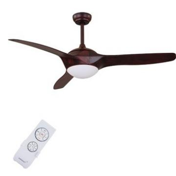 2017 popular good quality 52 inch decorative ceiling fan with light