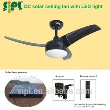 42 Inch 35 Watt beach cooler Solar Panel system Powered Solar ceiling fan with led light