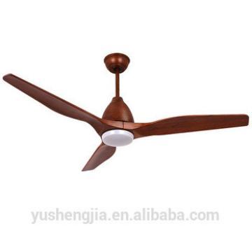 DC motor modern design light wooden blade 26w wood ceiling fan