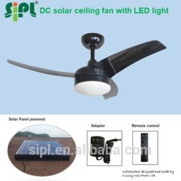 42 Inch 35 Watt Solar Panel Powered battery controller ceiling fan with led light