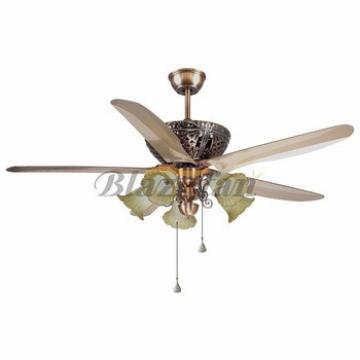 56 inch Remote control decorative ceiling fan light 5 ABS plastic blade 188*15 moter 56-1514