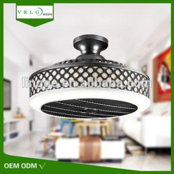 Hot sale 220v 45W indoor 3 blades led light ceiling fan