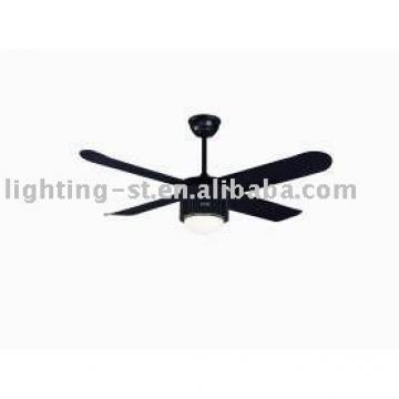 "Black ceiling fan with 4 blades 52""-YJ022"