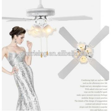 """High quality multi-function 36"""" 42"""" 52"""" 43W-70W ceiling fan with E27 light"""