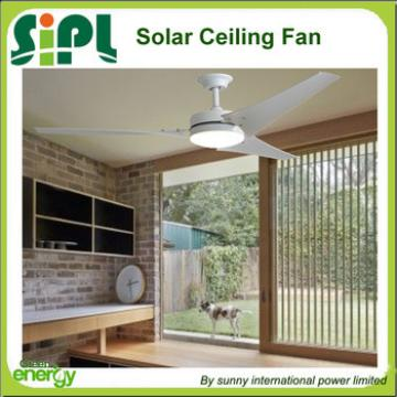 Vent tool ABS solar DC ceiling fan 60 inch 30W solar panel powered solar ceiling fan R
