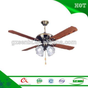 lights&lighting 360 degree 52'' led ceiling fan with wood blade