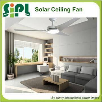 Vent tool new idea Decorative Solar cooling fan 24v dc motor solar panel power ceiling fan