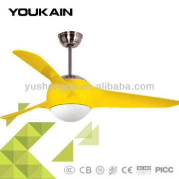 54 inch high quality led remote control ceiling light fan