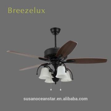 Cost-effective 56inch light ceiling fan modern wood blade ceiling fan with light