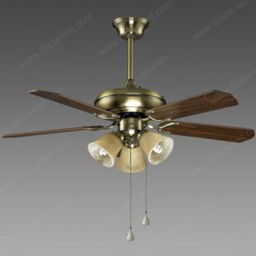 Beautiful design Wood blade decorative ceiling fans with light