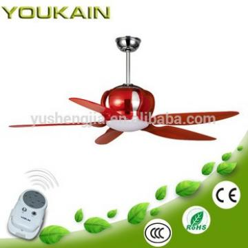 52 Inch red material pc blade fancy cooling fan with light