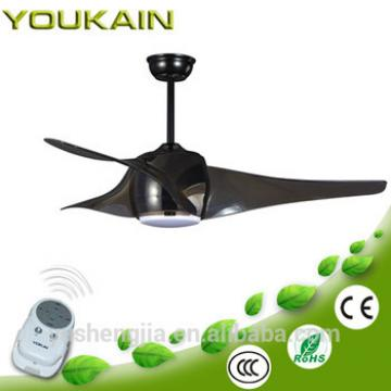 50inch plastic ceiling fan with led fancy light for home