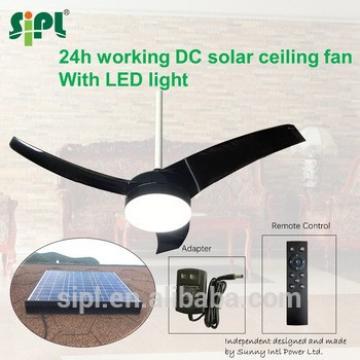 solar powered mini air conditioner 42 Inch 35 Watt Solar Panel Powered Solar Ceiling Fan
