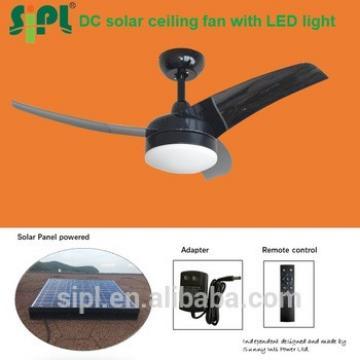 beach cooler solar panel fan remote control inverter dc ac 3 blade ceiling fan kit